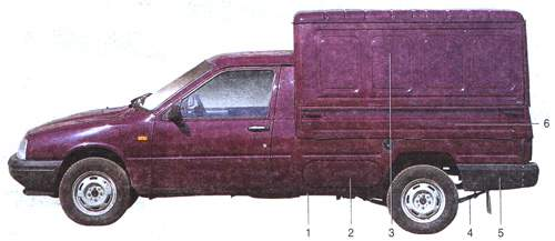 22.0 Особенности конструкции автомобиля ИЖ-2717