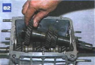 Разборка и сборка коробки передач