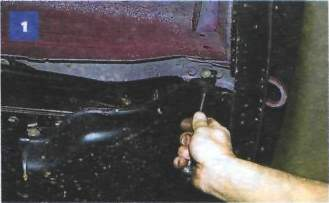Снятие брызговика двигателя