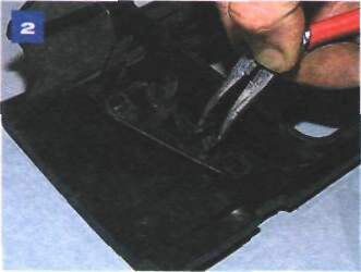 Снятие решетки радиатора