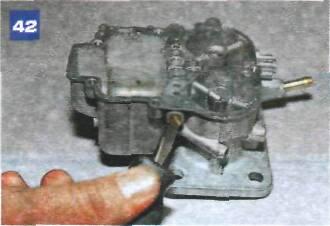 Разборка карбюратора ДААЗ-2107-1107010