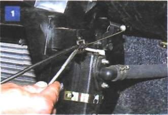 21.6 Снятие корпуса отопителя, блока управления отопителем и воздуховодов панели приборов