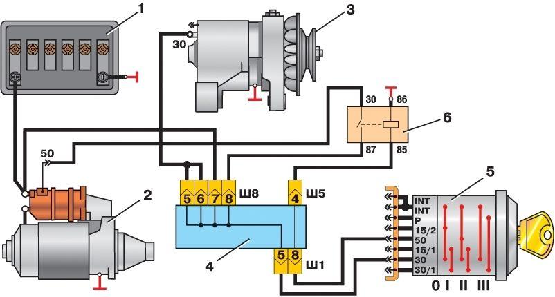 Схема зажигание мб 1 фото 762