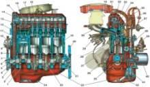 2.2 Двигатель мод. 2106