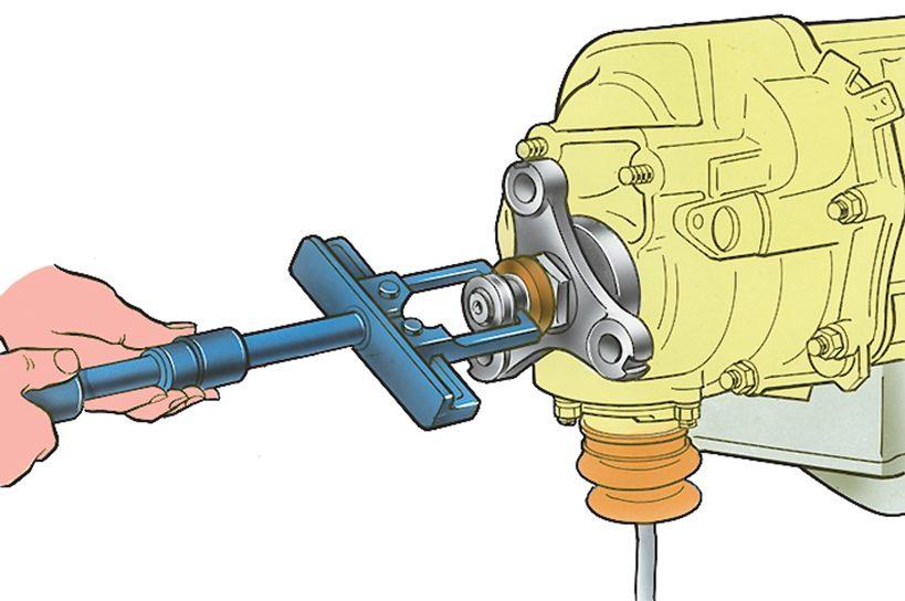 7.1) переднего жгута проводов.