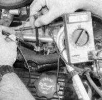 7.12 Проверка исправности системы впрыска топлива
