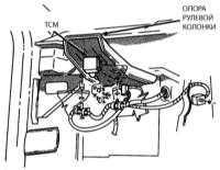 11.13 Замена модуля управления трансмиссией  (ТСМ) (только для АW-4 и 42RЕ)