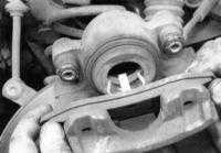 14.3 Замена колодок дисковых тормозных механизмов Jeep Grand Cherokee