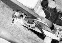 14.15 Замена тросов привода стояночного тормоза Jeep Grand Cherokee