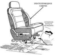 16.29 Снятие и установка сидений