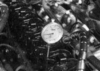 3.11 Снятие, проверка состояния и установка распределительного вала, подшипников и гидравлических толкателей