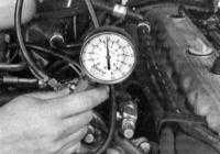 5.3 Проверка компрессионного давления в цилиндрах