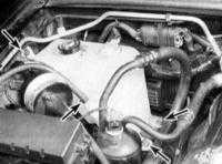 6.6 Снятие и установка радиатора и расширительного бачка системы охлаждения