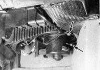 6.10 Снятие и установка блока вентилятора  отопителя