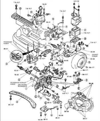 9.5 Установка коробки передач