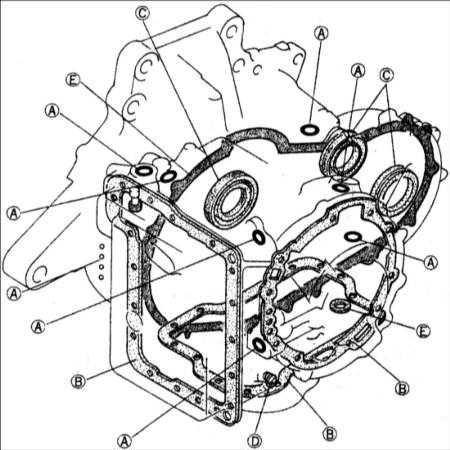 10.13 Утечки жидкости из автоматической коробки передач