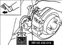 13.15 Прокачка гидравлической системы привода тормозов