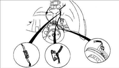 13.35 Датчики частоты вращения колеса