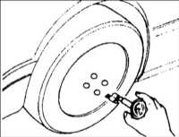 15.2 Регулировка углов установки передних колес