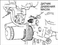 3.3 Проверка давления моторного масла