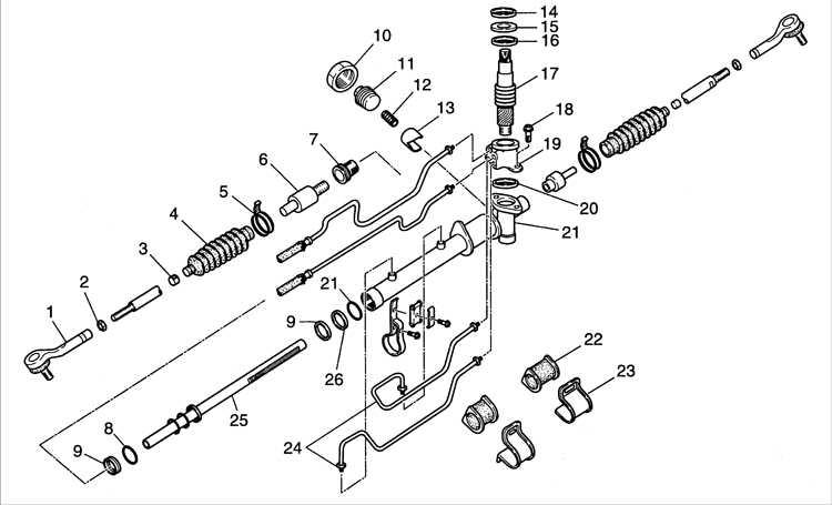 Рулевое управление киа соренто схема