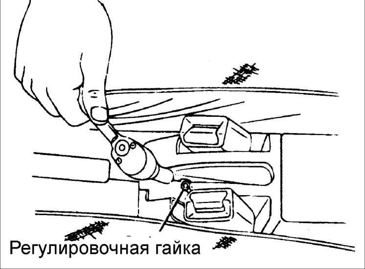 как натянуть ручной тормоз на киа рио