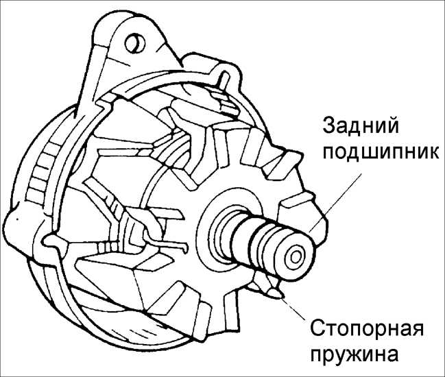 Замена генератора на киа рио