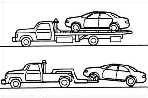1.53 Буксировка автомобиля