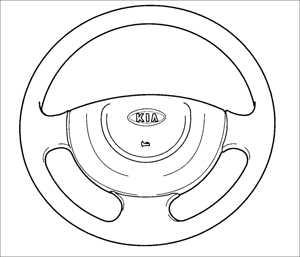 1.17 Рулевое колесо Kia Rio