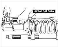 10.5 Стойка передней подвески Kia Rio