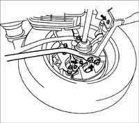 10.2 Проверка элементов передней подвески Kia Rio