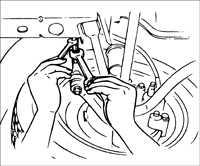 10.3 Проверка и регулировка углов установки колес