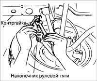 10.4 Схождение передних колес Kia Rio