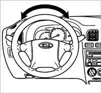 12.3 Проверка рулевого управление без гидравлического усилителя