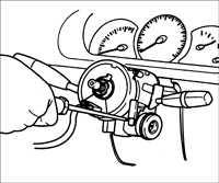 12.4 Рулевая колонка без гидравлического усилителя Kia Rio