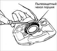 13.11 Ремонт суппорта переднего тормоза