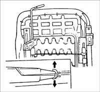 14.33 Обивка подушки переднего сиденья