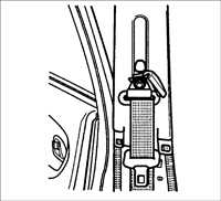 14.37 Ремни безопасности Kia Rio