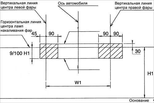 16.26 Регулировка света противотуманных фар