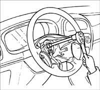 16.29 Подушка безопасности водителя и спиральный провод Kia Rio