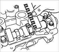 2.3 Распределительные валы Kia Rio
