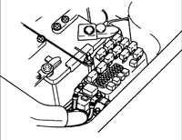 5.12 Снятие давления в топливной системе