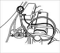5.15 Проверка остаточного давления в топливной системе