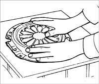 7.5 Проверка кожуха сцепления с нажимным диском