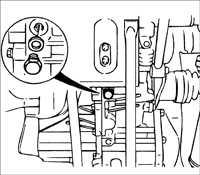 8.1.4 Замена масляного уплотнительного кольца Kia Rio
