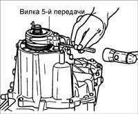 8.1.6 Разборка, проверка и сборка коробки передач Kia Rio