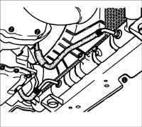 8.2.7 Процедура замены жидкости в преобразователе автоматической коробки передач