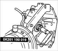 8.2.11 Ремонт автоматической коробки передач Kia Rio