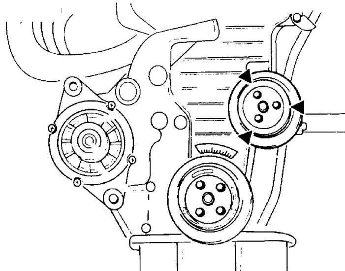 Киа каренс приводной ремень схема