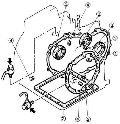 10.4 Утечки жидкости из автоматической коробки передач